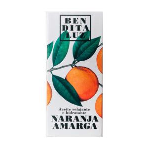 Aceite corporal de naranja amarga