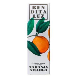 Crema de manos y cuerpo de naranja amarga