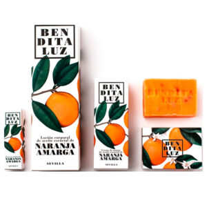 Pack cosmética Naranja Amarga de Sevilla BenditaLuz